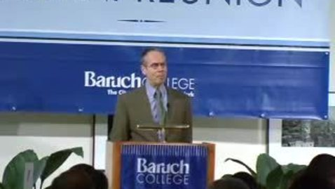 Thumbnail for entry Baruch Athletic Hall of Fame Induction 2007