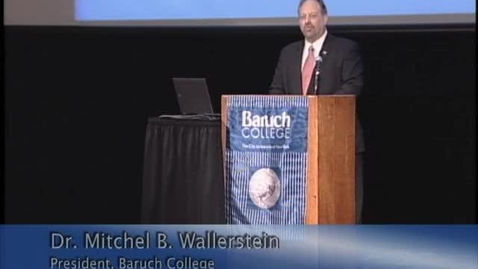 Thumbnail for entry All Hands Meeting: Full Video including Baruch College Strategic Plan, 2013-2018