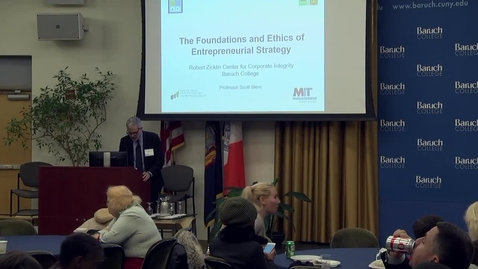 Thumbnail for entry The foundations and ethics of entrepreneurial strategy