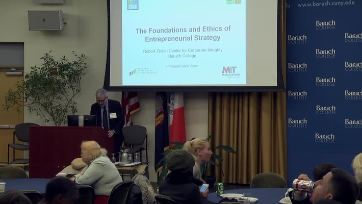 The foundations and ethics of entrepreneurial strategy