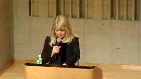 Thumbnail for entry Writer in Residence: Carol Muske-Dukes
