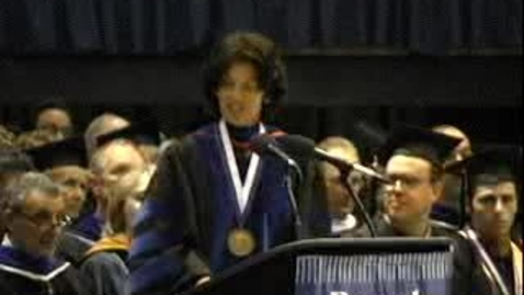 Thumbnail for entry Baruch College Commencement (2005): Kathleen Waldron
