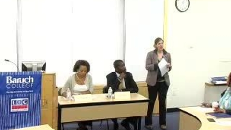 Thumbnail for entry JobSmart Career Hour (2011): Versatile MPA: Using Your Degree In the Private Sector
