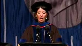 Thumbnail for entry Baruch College Commencement (2007): Selma Botman