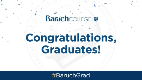 Thumbnail for entry Baruch College 53rd commencement exercises (2018)