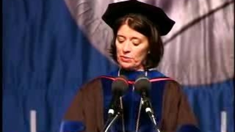 Thumbnail for entry Baruch College Commencement (2007): Salutatorian Yunna Gleyzer