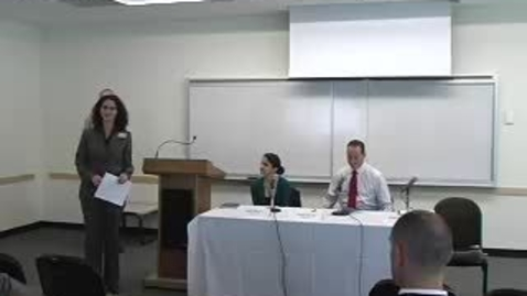 Thumbnail for entry Career Week (2007): CIS Panel