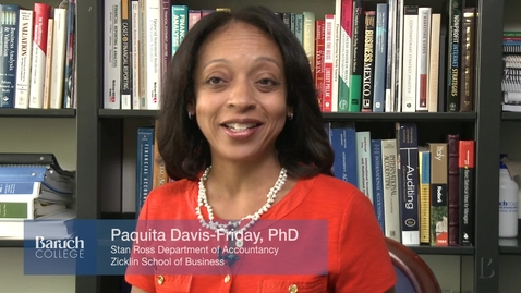Thumbnail for entry Faculty Profile : Paquita Davis-Friday