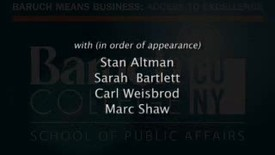 Thumbnail for entry Part 11: Sarah Bartlett Interviews Carl Weisbrod and Marc Shaw