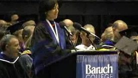 Thumbnail for entry Baruch College Commencement (2005): Alma Mater