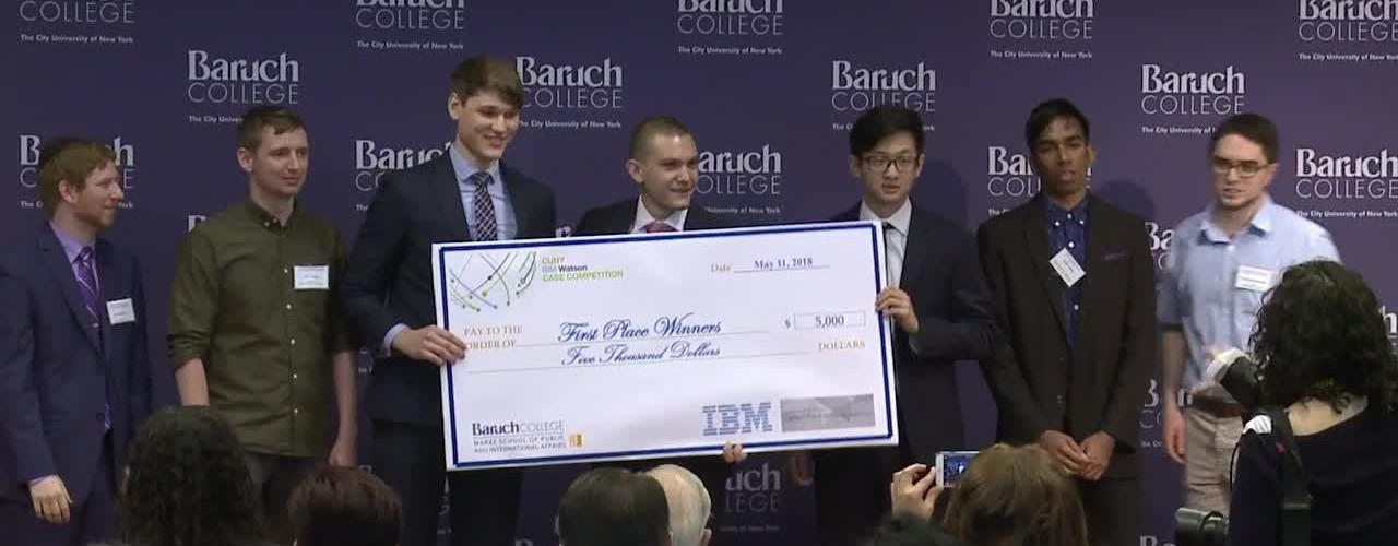 CUNY-IBM Watson Case Competition 2018 : Final Presentations and Award Ceremony