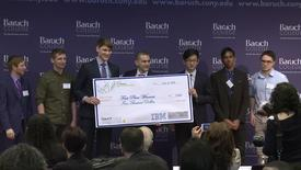Thumbnail for entry CUNY-IBM Watson Case Competition 2018 : Final Presentations and Award Ceremony