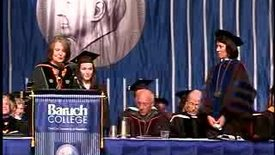 Thumbnail for entry Baruch College Commencement (2007, Afternoon Session): Degree Award, Weissman School of Arts and Sciences