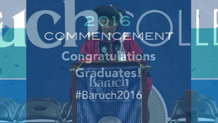 Commencement 2016