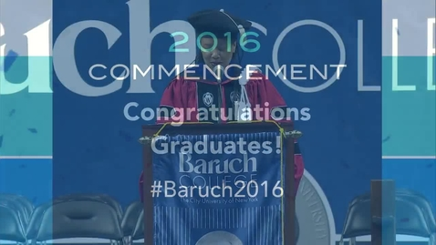 Thumbnail for entry Commencement 2016