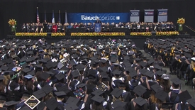 Thumbnail for entry Baruch College 52nd commencement exercises (2017). Part 2 of 3