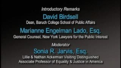 Thumbnail for entry Race in America: Advancing Equality in the 21st Century (Part 1)