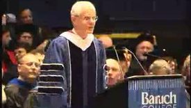 Thumbnail for entry Baruch College Commencement (2004): Ned Regan