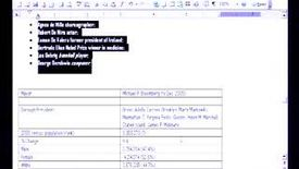Thumbnail for entry Introduction to Microsoft Word 2003: Headers and Footers Printing