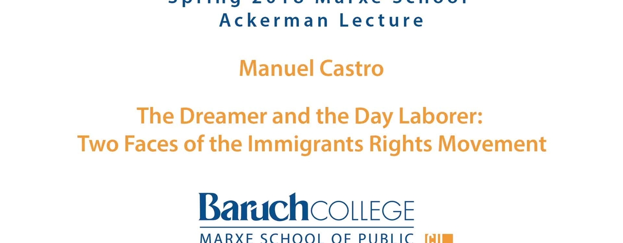 The Dreamer and the Day Laborer : Two Faces of the Immigrants Rights Movements