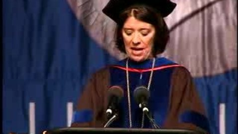 Thumbnail for entry Baruch College Commencement (2007): Presentation of Graduate Class Gift