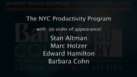 Thumbnail for entry Part 3: NYC Productivity Program