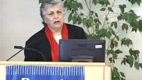 Thumbnail for entry Executives on Campus (2005): Sally Guido on Lee Myles