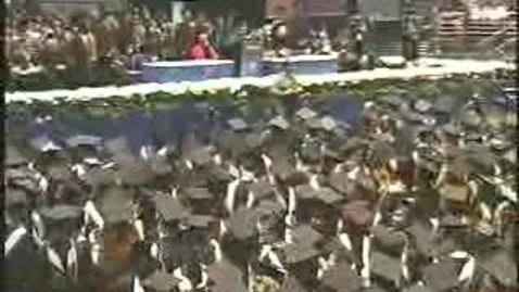 Thumbnail for entry Baruch College Commencement (2006): Conferral of Degrees