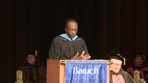 Thumbnail for entry Baruch College Convocation (2019)