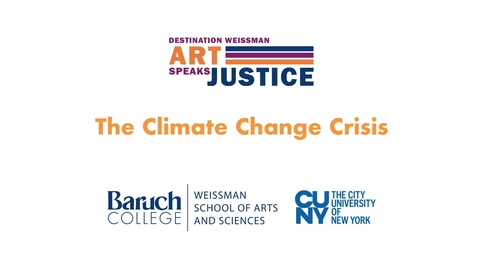 Thumbnail for entry The Climate Change Crisis