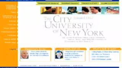 Thumbnail for entry Accessing the CUNY Portal