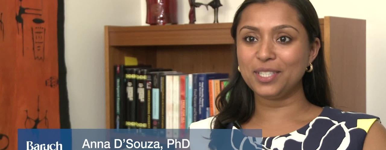 Faculty Profile : Anna D'Souza