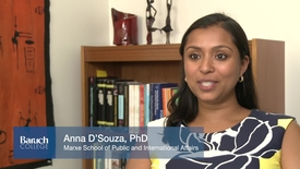 Thumbnail for entry Faculty Profile : Anna D'Souza