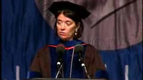Thumbnail for entry Baruch College Commencement (2007): Valedictorian Matthew Furleiter