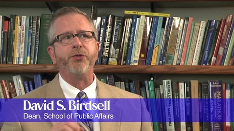 Thumbnail for entry Presidential Election Campaign Talk by David Birdsell (Part 1 of 2)