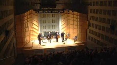 Thumbnail for entry Alexander String Quartet presents the Quartets, Quintets