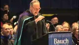 Thumbnail for entry Baruch College Commencement (2004): Charles Schumer