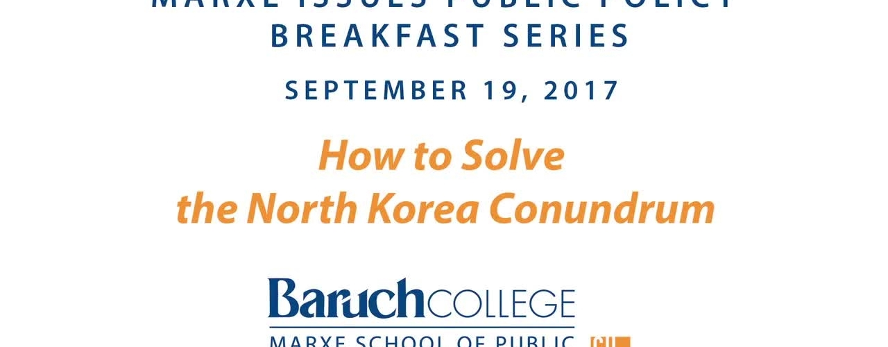 How to Solve the North Korea Conundrum?