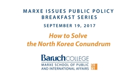 Thumbnail for entry How to Solve the North Korea Conundrum?