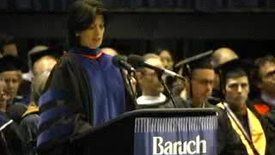 Thumbnail for entry Baruch College Commencement (2005): Matthew Goldstein