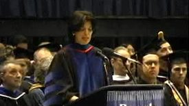 Thumbnail for entry Baruch College Commencement (2005): Benno Schmidt