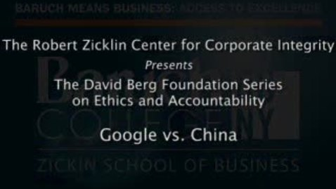 Thumbnail for entry Google vs. China