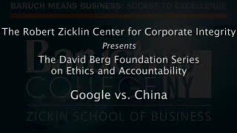 Thumbnail for entry Google vs. China