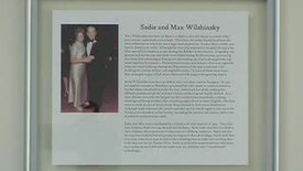 Thumbnail for entry Dedication of the Sadie & Max Wilshinsky Classroom