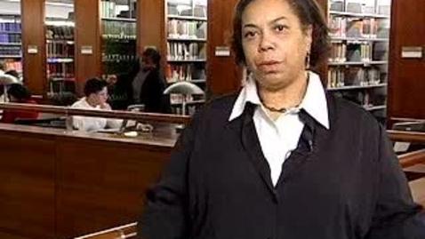 Thumbnail for entry Aisha Peña: The Library for Freshmen