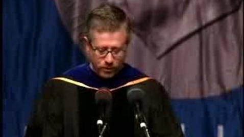 Thumbnail for entry Baruch College Commencement (2007, Morning Session): Degree Award, School of Public Affairs