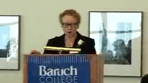 Thumbnail for entry Baruch College Employee Service Awards 2007 (Part 1)