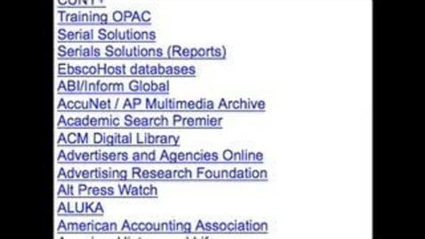 Thumbnail for entry International Executive Programs (IEP) Orientation 2009 (Part 4)