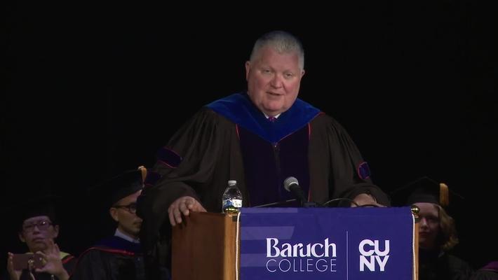 Baruch College Convocation (2018)