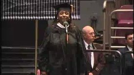 Thumbnail for entry Baruch College Commencement (2004): The National Anthem